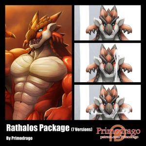 Rathalos Artworks Package
