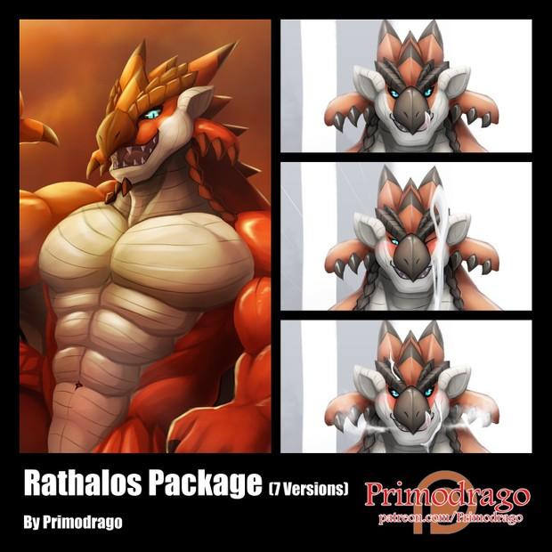 Rathalos Artworks Package