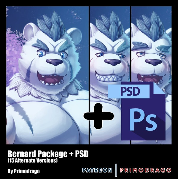 Bernard Artpack + PSD File