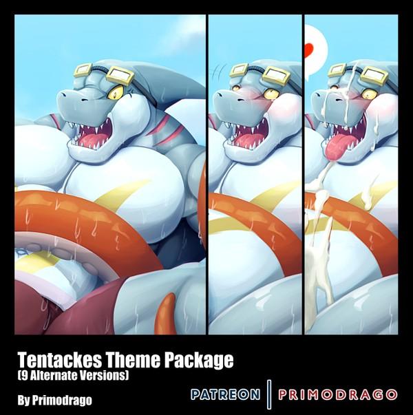 Tentacles Theme Artpack