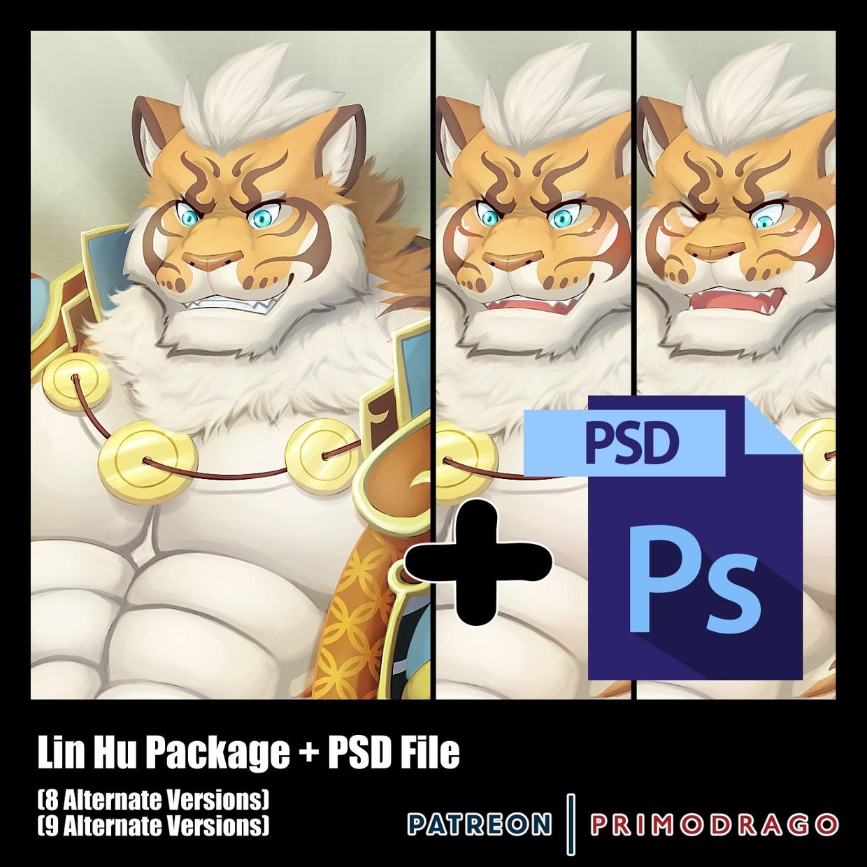 Lin Hu Artpack + PSD File