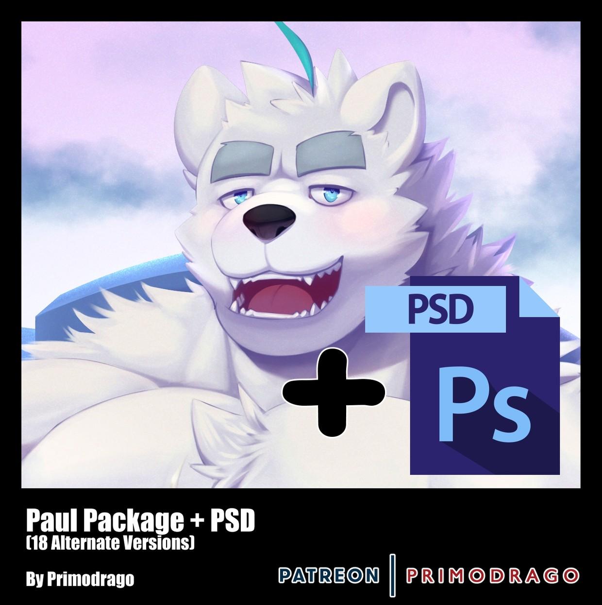 Paul Artpack + PSD File