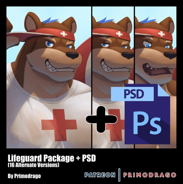 Lifeguard Theme + PSD File