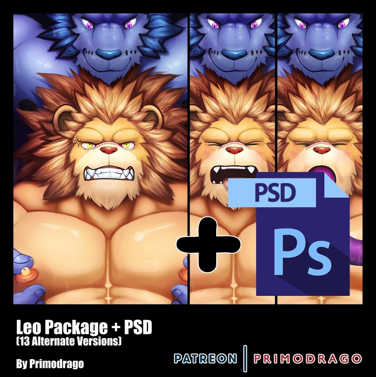 Leo Artpack + PSD File