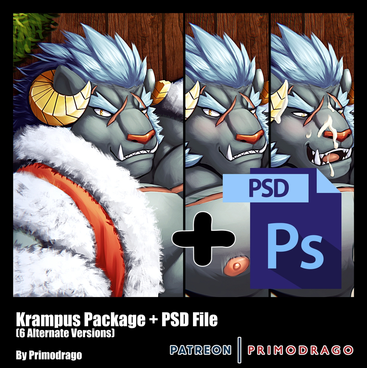 Krampus Artpack + PSD File