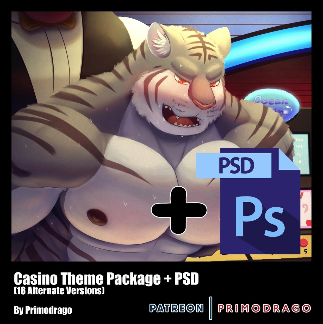 Casino Theme + PSD File