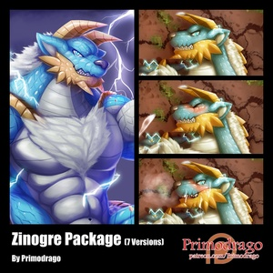 Zinogre Artworks Package