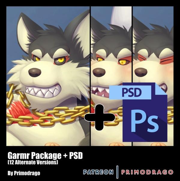 Garmr Artpack + PSD File