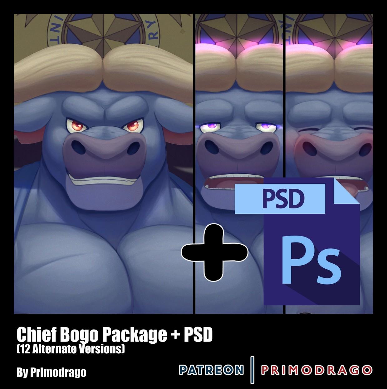 Chief Bogo Artpack + PSD File