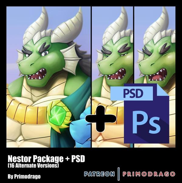 Nestor Artpack + PSD File