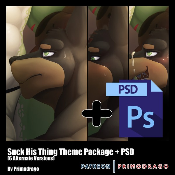 Suck His Thing Theme + PSD File
