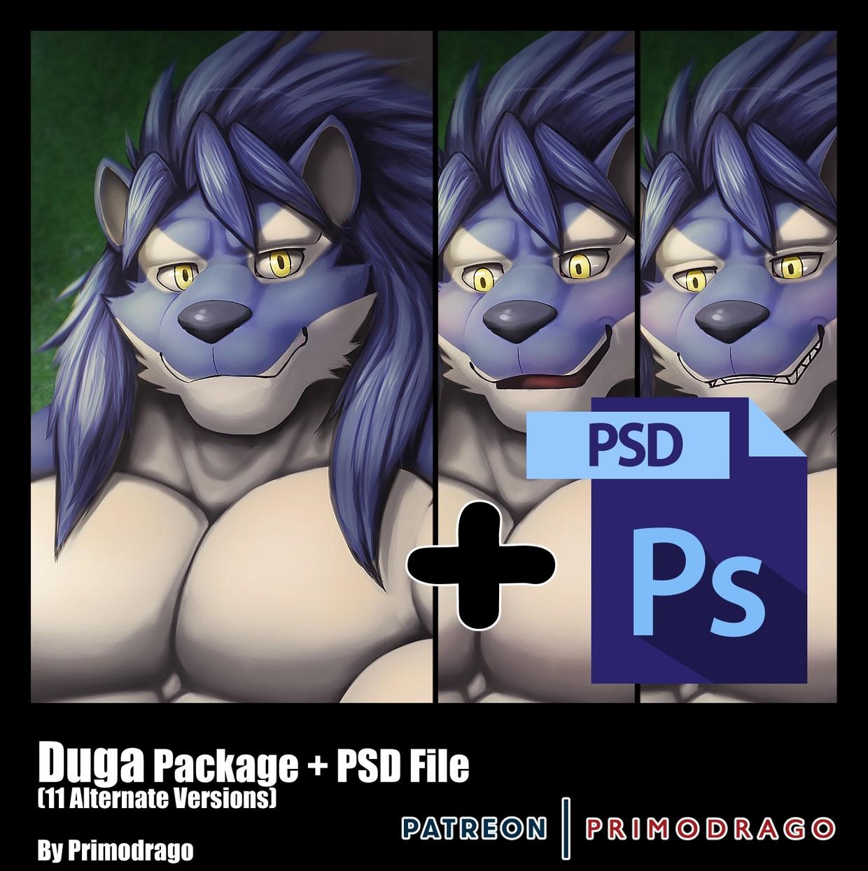 Duga Artpack + PSD File