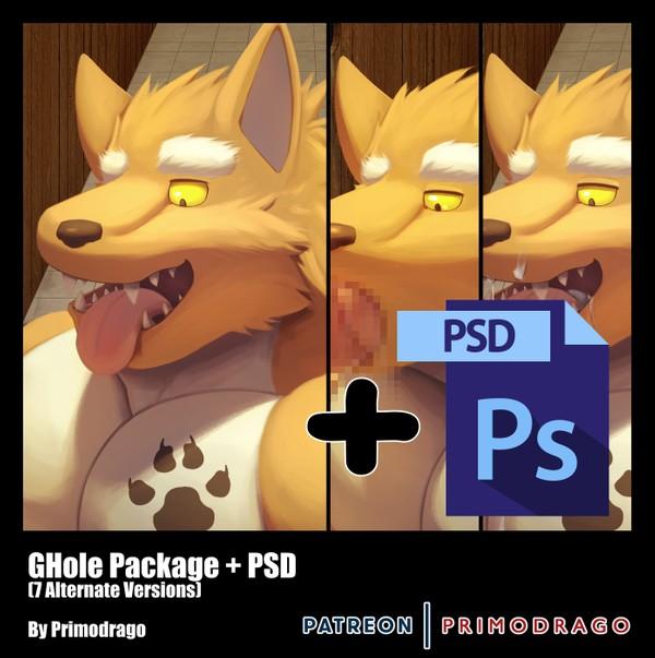 GHole Theme + PSD File
