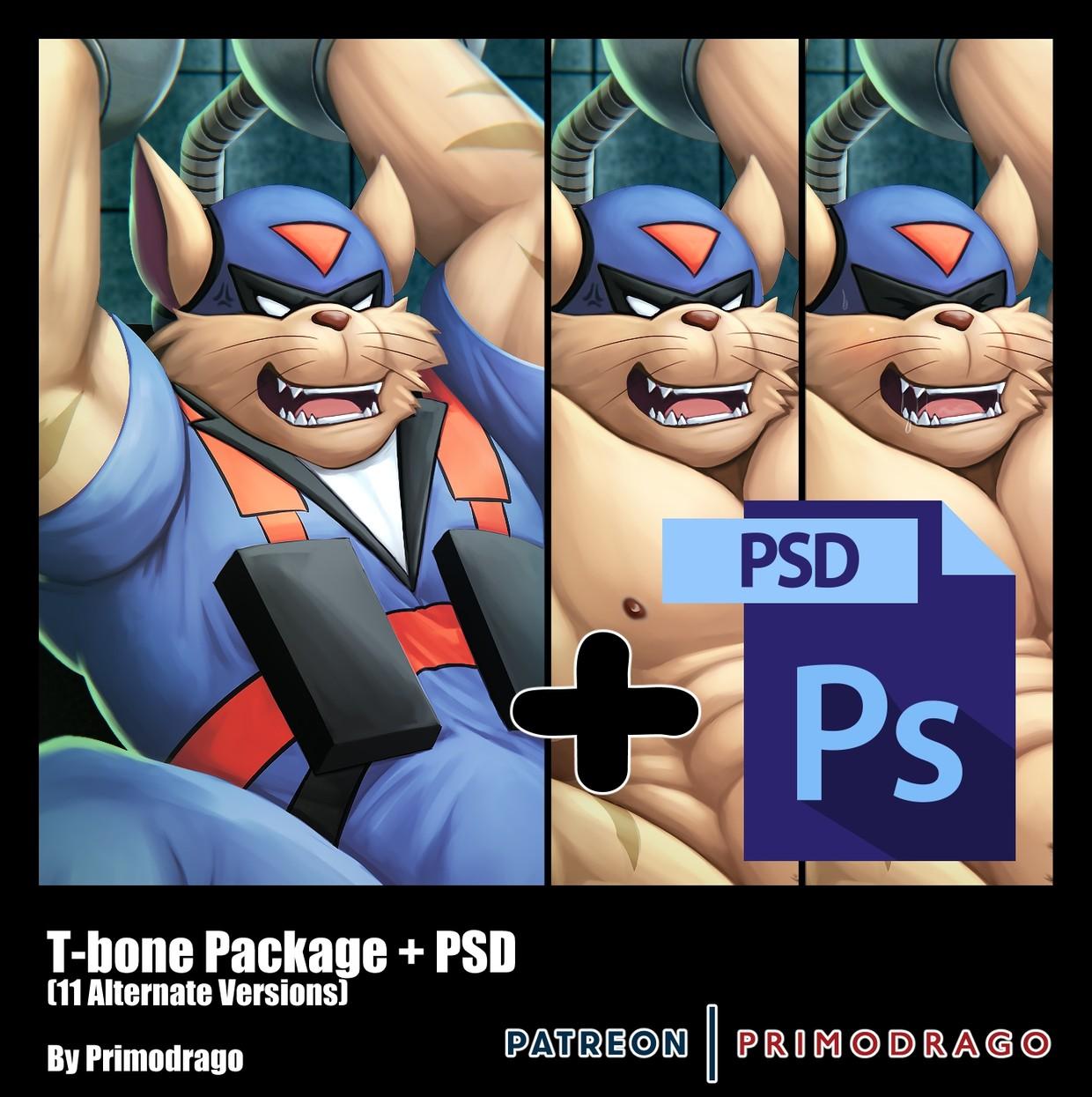 T-Bone Artpack + PSD File
