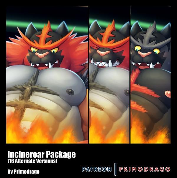 Incineroar Artpack