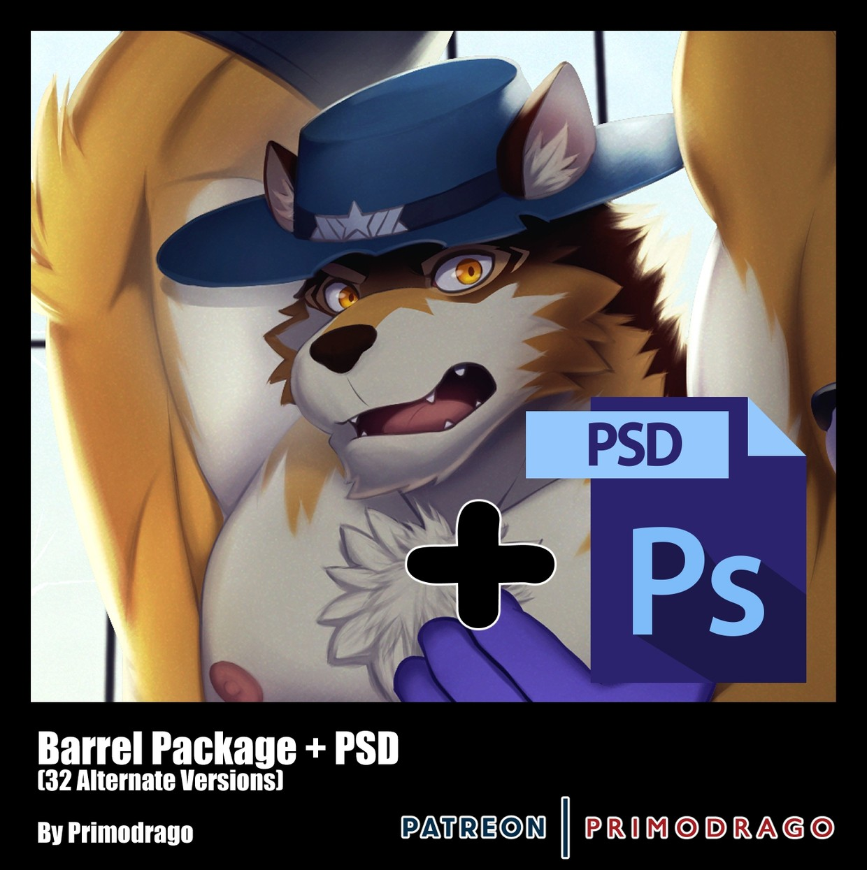 Barrel Artpack + PSD File