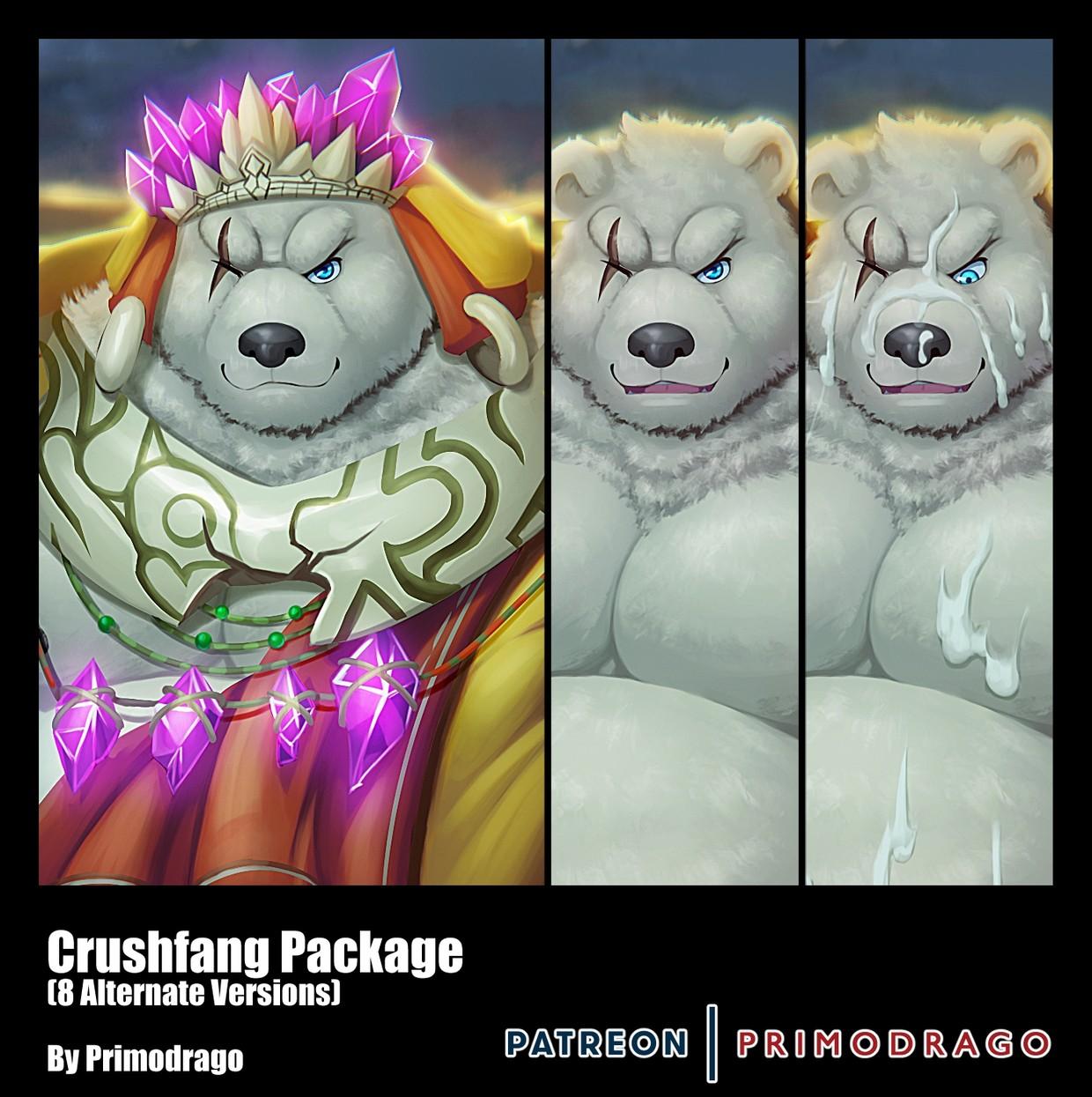 Crushfang Artpack