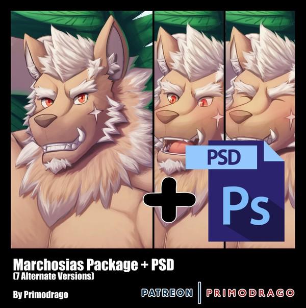 Marchosias Artpack + PSD File
