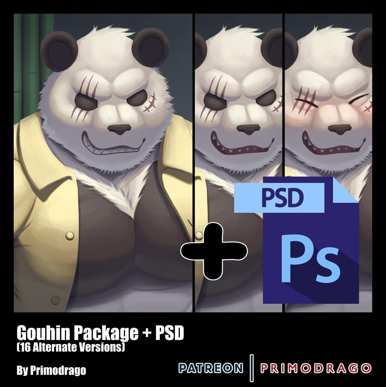Gouhin Artpack + PSD File