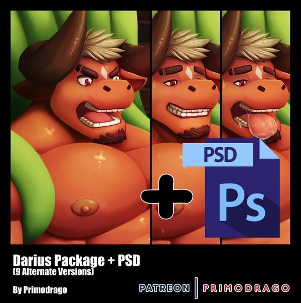 Darius Artpack + PSD File