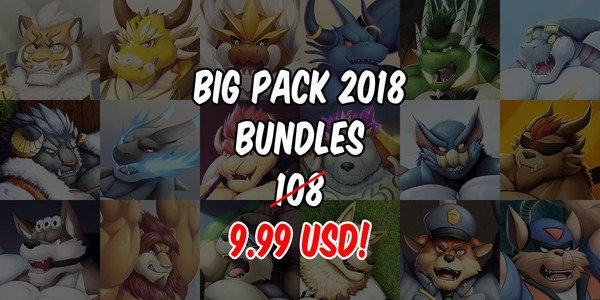 Big Pack 2018 Bundles [18 Artpack of 2018]
