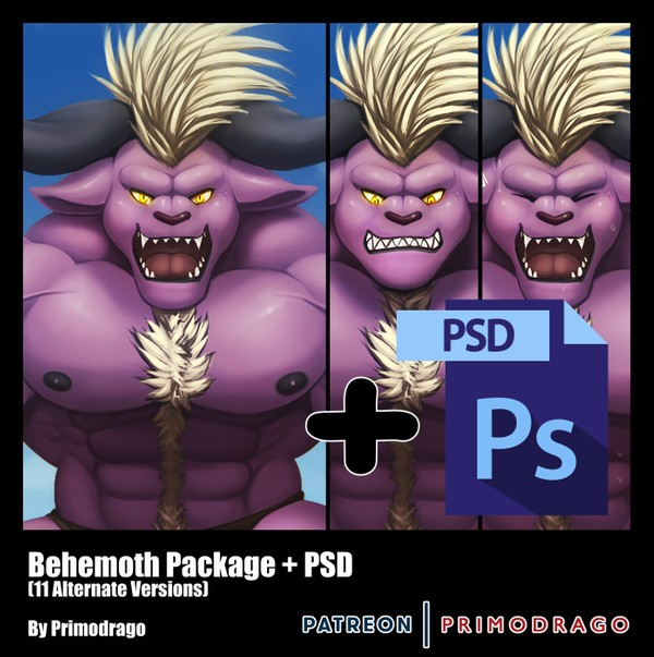 Behemoth Artpack + PSD File