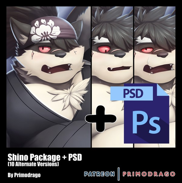 Shino Artpack + PSD File