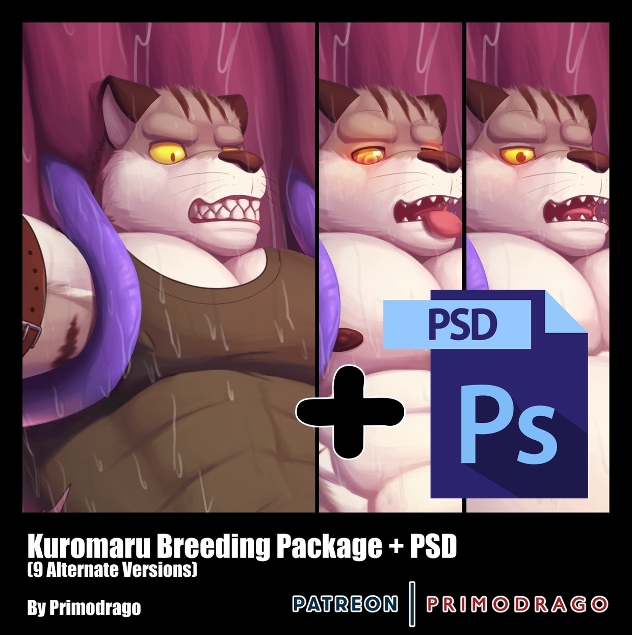 Kuromaru Breeding Theme + PSD File