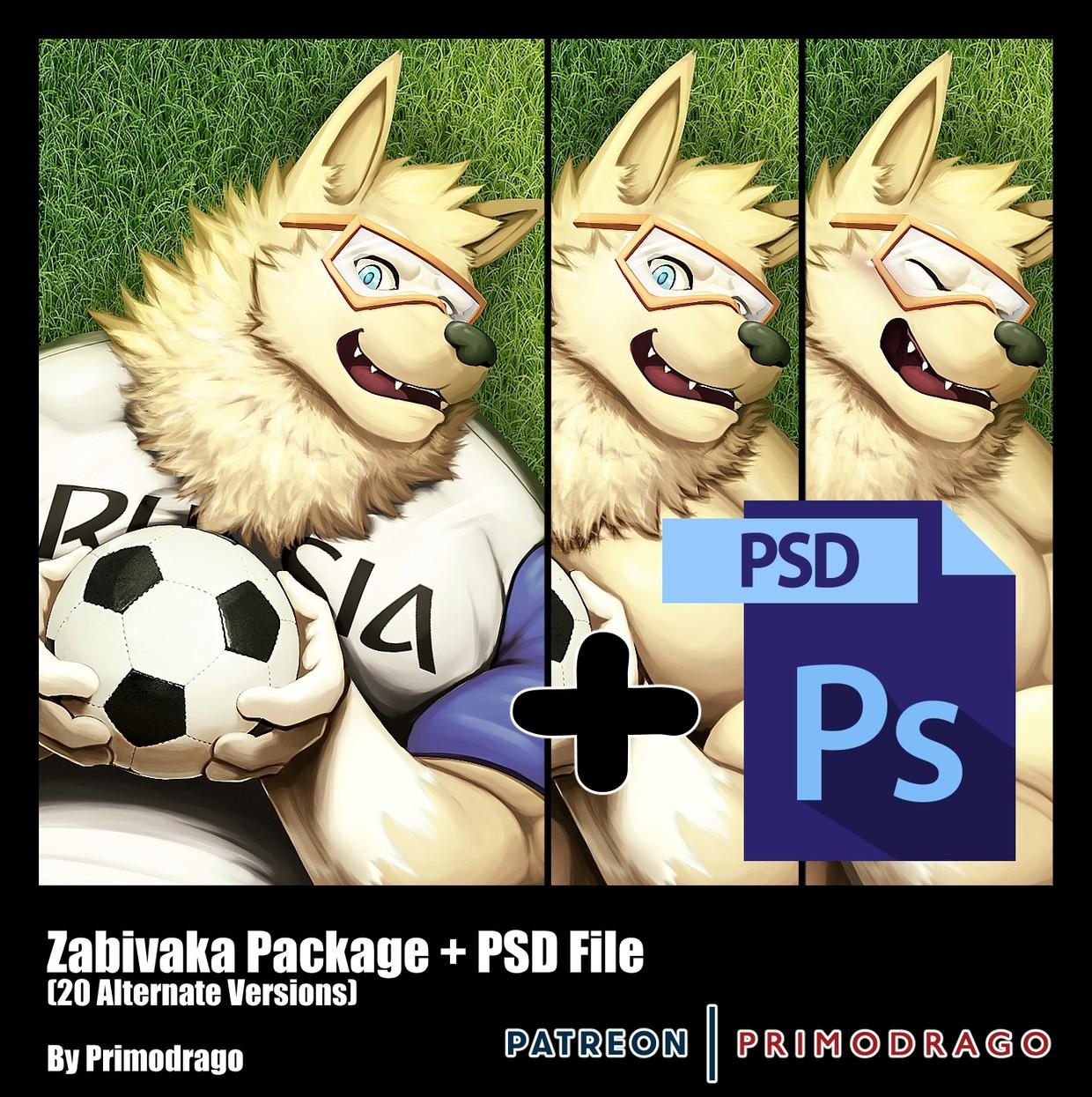 Zabivaka Artpack + PSD File