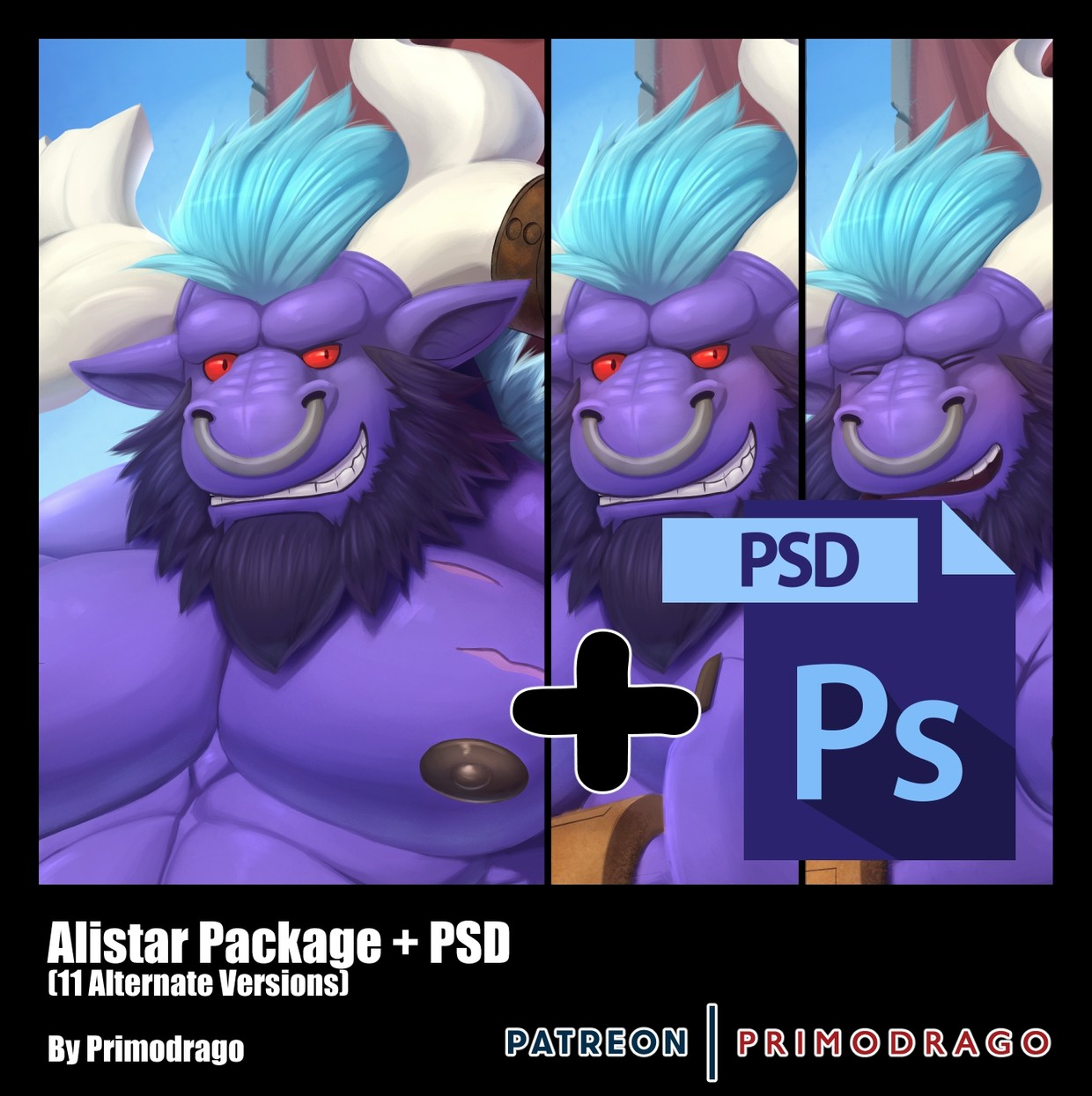 Alistar Artpack + PSD File