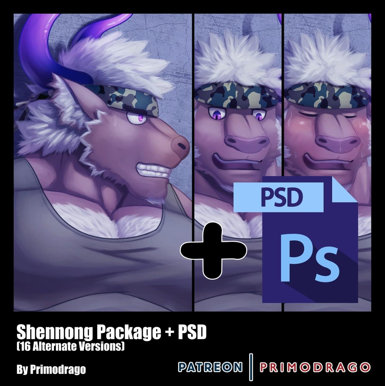 Shennong Artpack + PSD File