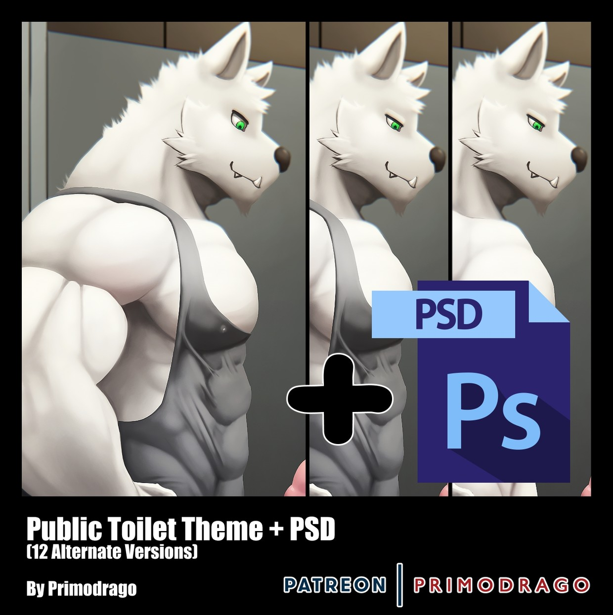 Public Toilet Theme + PSD File