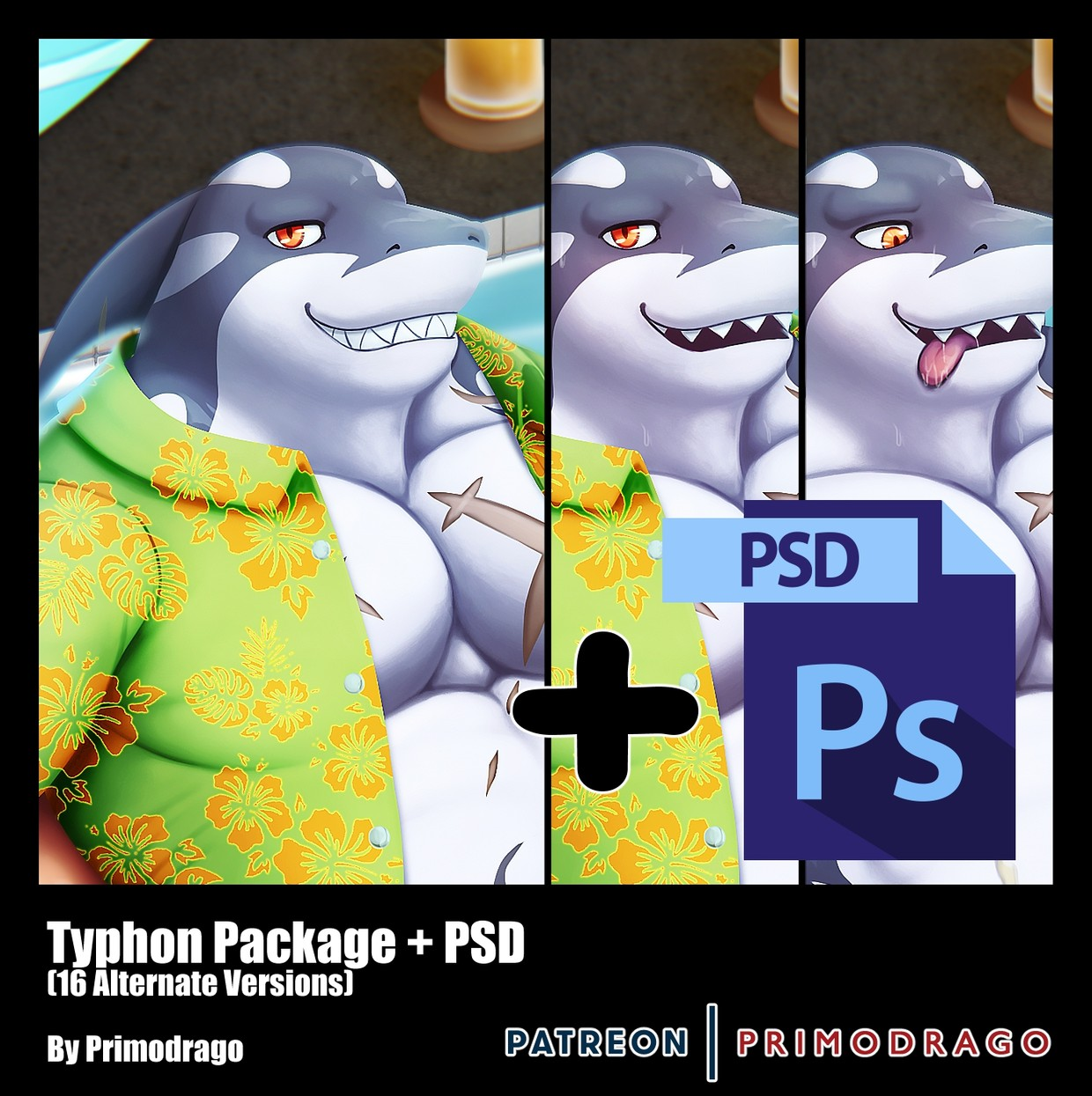 Typhon Artpack + PSD File
