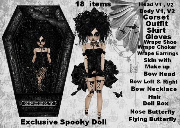 EXCLUSIVE SPOOKY DOLL