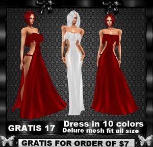 GRATIS 17 FOR ORDER OF $7