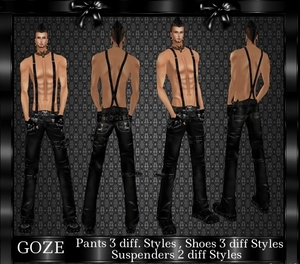 GOZE MALE BUNDLE