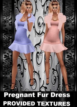 PREGO Fur Dress Provided Textures