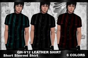 QH - V12 Leather Shirt