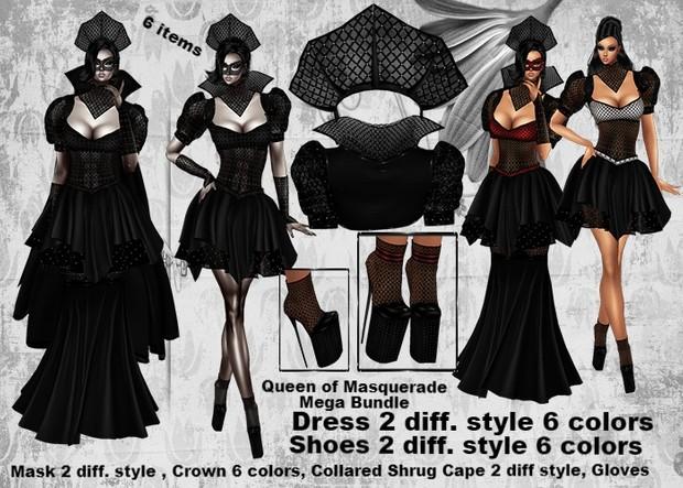 Queen of Masquerade MEGA Bundle