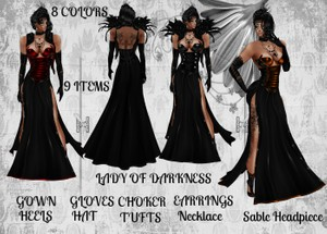 Lady of Darkness Bundle