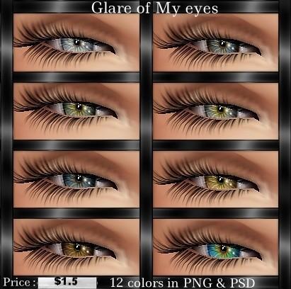 Glare Of My Eyes