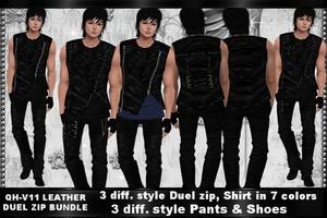 QH - V11 Leather Duel Zip Bundle
