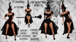 Enchanting Witch Halloween Bundle