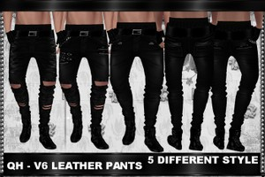 QH - V6 Leather Pants