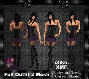 Full outfit 2 Mesh