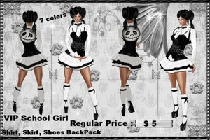School Girl  Bundle