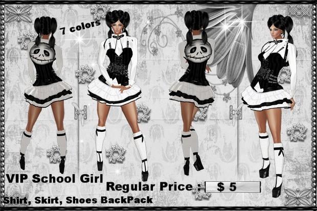 School Girl  Bundle