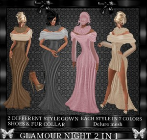 Glamour Night 2 in 1 Bundle