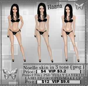 Noelle Skin Emo Pure