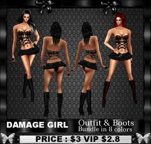Damage Girl Bundle